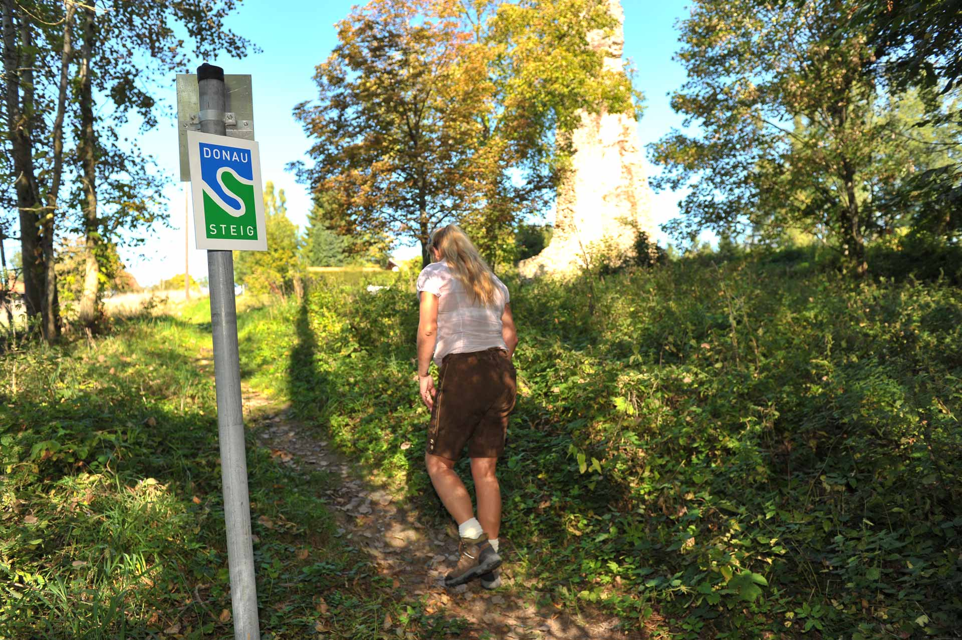 Wanderin am Donausteig